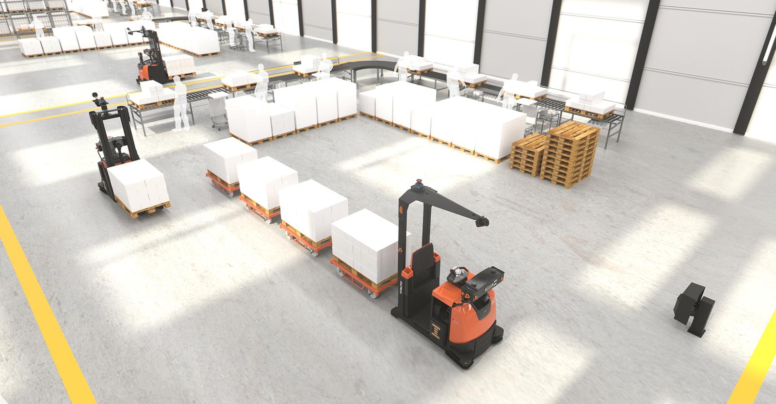 Vijf manieren waarop automatisering uw interne logistiek ten goede kan komen